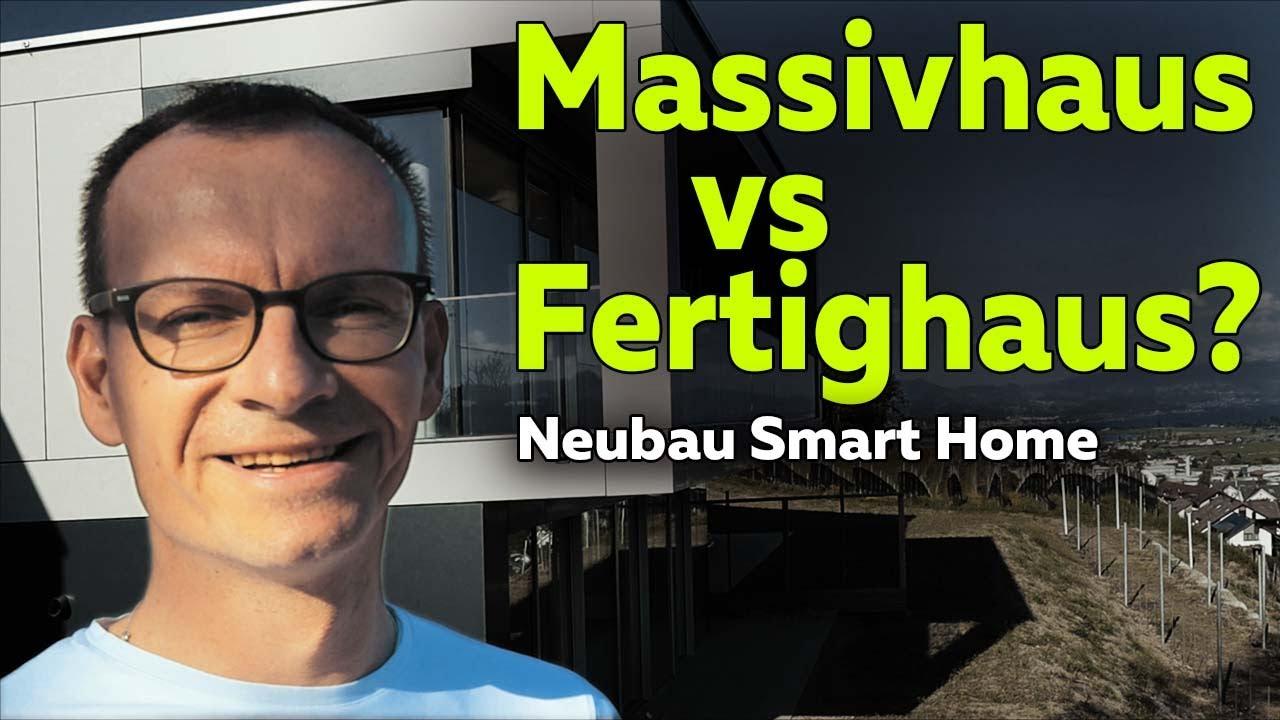 Massivhaus vs Fertighaus: Vorteile/Nachteile im Neubau | Smartest Home -  Folge 152