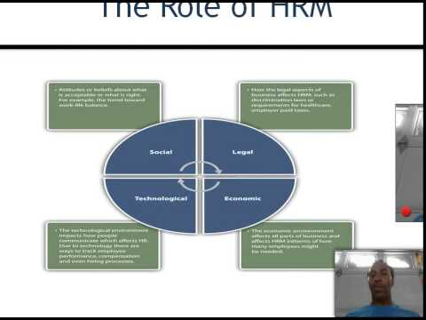 Human Resource Management Lecture   Chapter 1