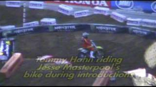 Dallas Supercross - Tommy Hahn Rides Jesse Masterpool
