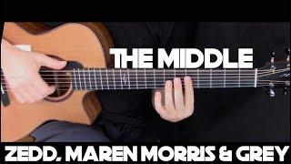 Zedd, Maren Morris & Grey - The Middle - Fingerstyle Guitar