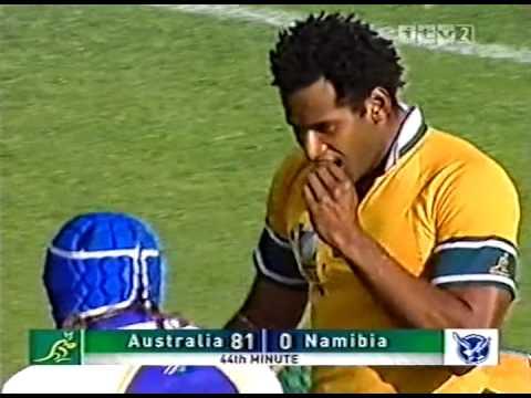 Australia 142 vs 0 Namibia RWC 2003