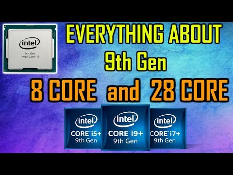 Intel 9th Details And Specs  I9 9900k , I7 9700k , I5 9600k [HINDI] MUST WATCH !!