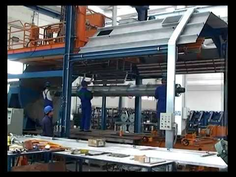 Technobell GRP Pipe Production Equipment and Technology CFW Continuous Filament Winding