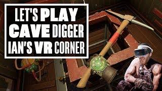 Ian goes schnaffling crazy in Cave Digger PSVR! - Ian's VR Corner