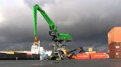 MANTSINEN - 200 M Material Handler, Container Handling