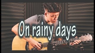 On rainy days 비가 오는 날엔 (BEAST/HIGHLIGHT) | Guitar Fingerstyle - Đức Tuấn