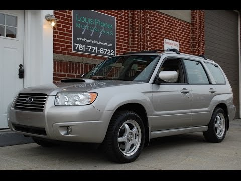 2006 subaru forester xt limited turbo walk around. Black Bedroom Furniture Sets. Home Design Ideas