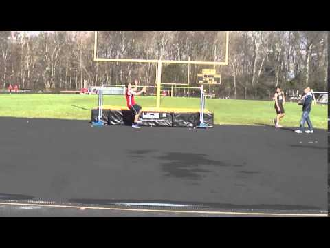 2016 - Outdoor Track - Boys High Jump at Amity Regional High School