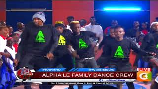 Alpha Le Famile Dance Crew #10Over10