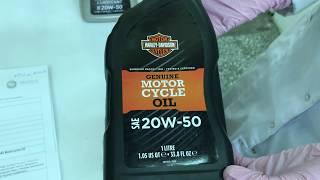 Harley-Davidson Genuine H-D 360 Motorcycle Oil 20W-50 приемка в лаборатории УРЦТЭиД