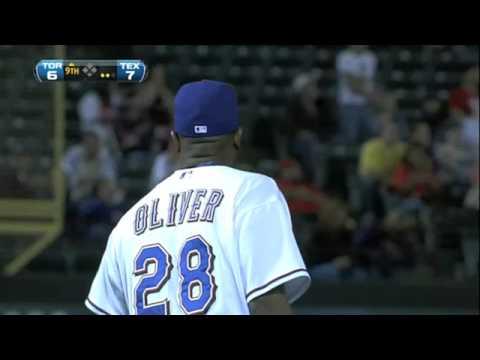 Oliver gets the save