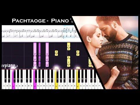 ♫ PACHTAOGE (Arijit Singh) || Piano Tutorial (Easy to Advanced) + Sheet Music + MIDI thumbnail