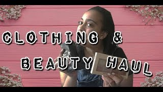 CLOTHING AND BEAUTY HAUL 2018