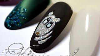 Как нарисовать мишку на ногтях(В этом видео вы подробно ознакомитесь как быстро, а главное легко, нарисовать мимишного мишку на ногтях..., 2016-01-22T21:09:59.000Z)