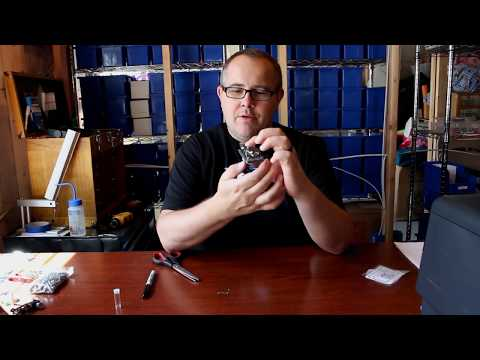 HO Slot Car Lexan Body Tips Part 1 (Pinning/Paint Prep)
