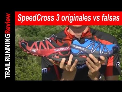 4fbcb8d5 Salomon SpeedCross 3 originales VS falsas - YouTube