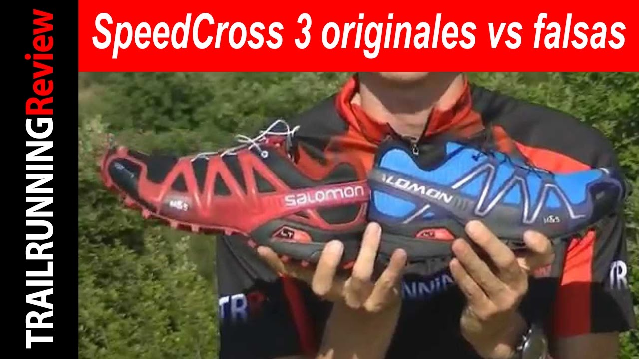 Speedcross 3 Salomon Falsas Originales Vs Youtube TFKl1Jc