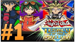 Let´s Play Yu-Gi-Oh! Legacy of the Duelist (German/Deutsch) Part 1 - Königreich der Duellanten
