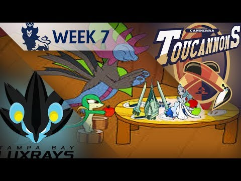 PPL D1S5 Week 7 | Battle | Tampa Bay Luxrays (4-2) vs. Canberra Toucannons (2-4)