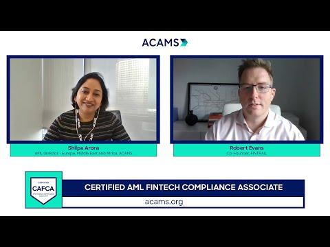 Make Change Happen Fast - CAFCA (Certified AML FinTech Compliance Associate)