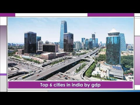 Top 5 cities in india by gdp  (2017)