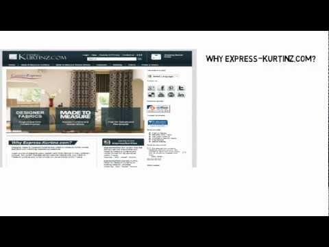 Express-Kurtinz Made to Measure Curtains and Roman Blinds