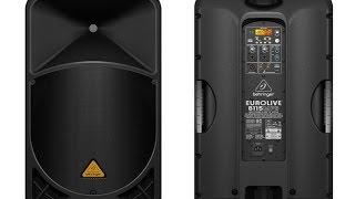 Обзор колонок Behringer EUROLIVE B115 MP3 / Speakers review Behringer EUROLIVE B115 MP3
