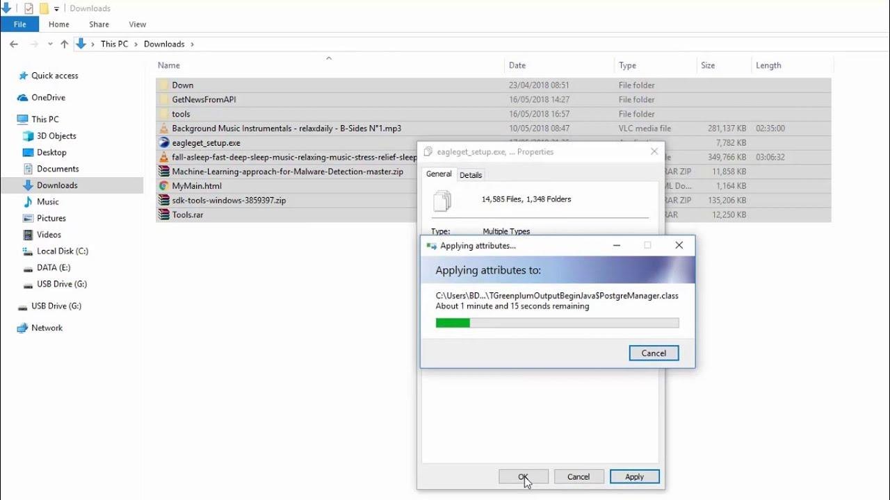 windows 10 show hidden files