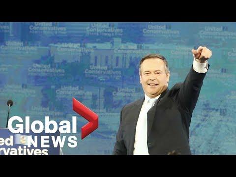 "Alberta Election 2019: ""Build those pipes"" premier-designate Jason Kenney ushers in new era"