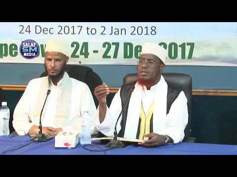 Uwanaaji siduu Ilaahay kuu wanaajiyay 2018 Sh Maxamed Cabdi Umal