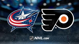Flyers edge Blue Jackets in Mrazek's debut