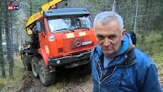 Visegrad Kamion Sletio U Provaliju