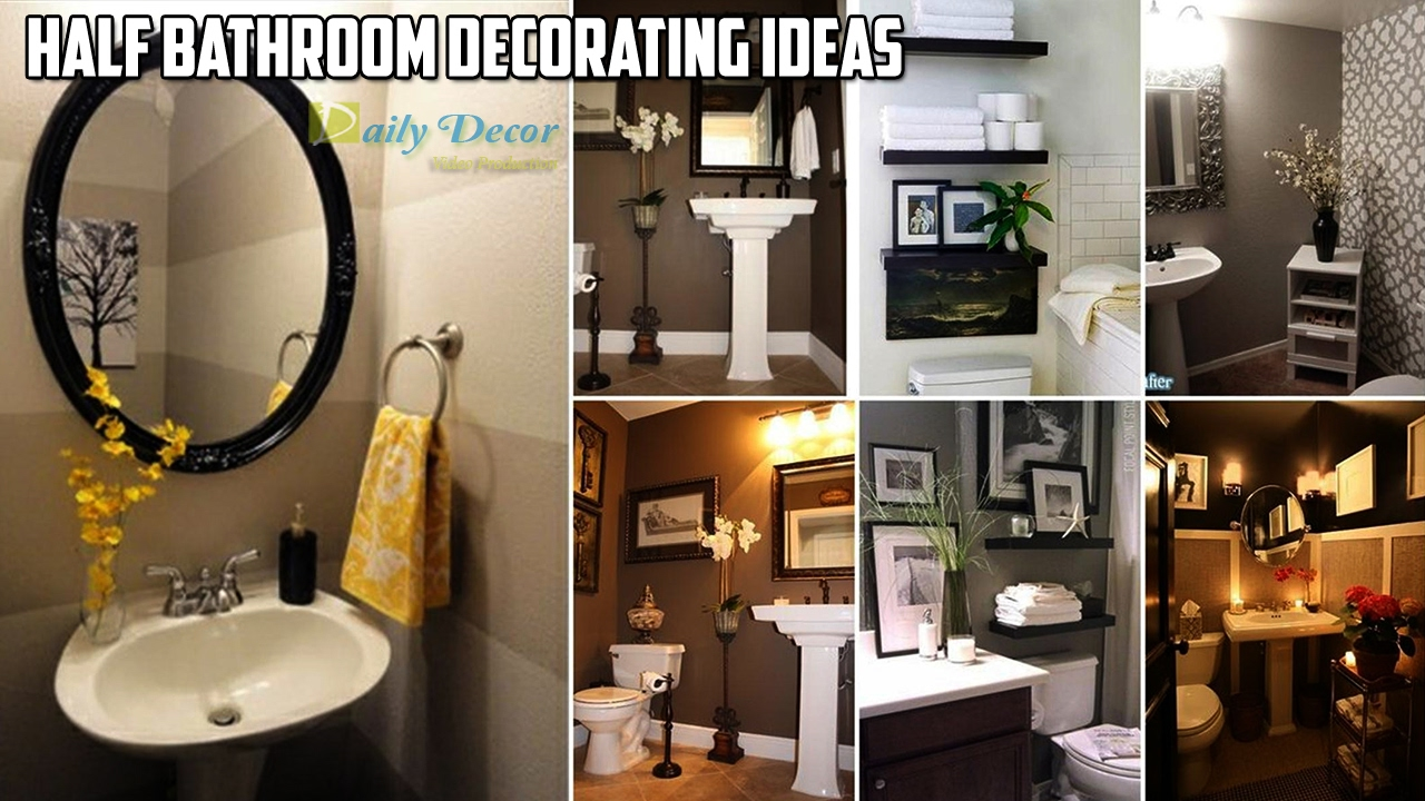 [Daily Decor] Half Bathroom Decorating Ideas