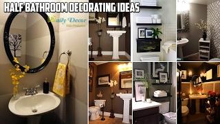 [Daily Decor] Half Bathroom Decorating Ideas