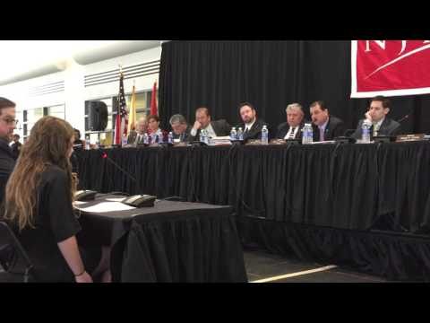 Lindsey Testifies in New Jersey on Learning Ally