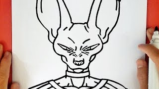 Drawing Beerus