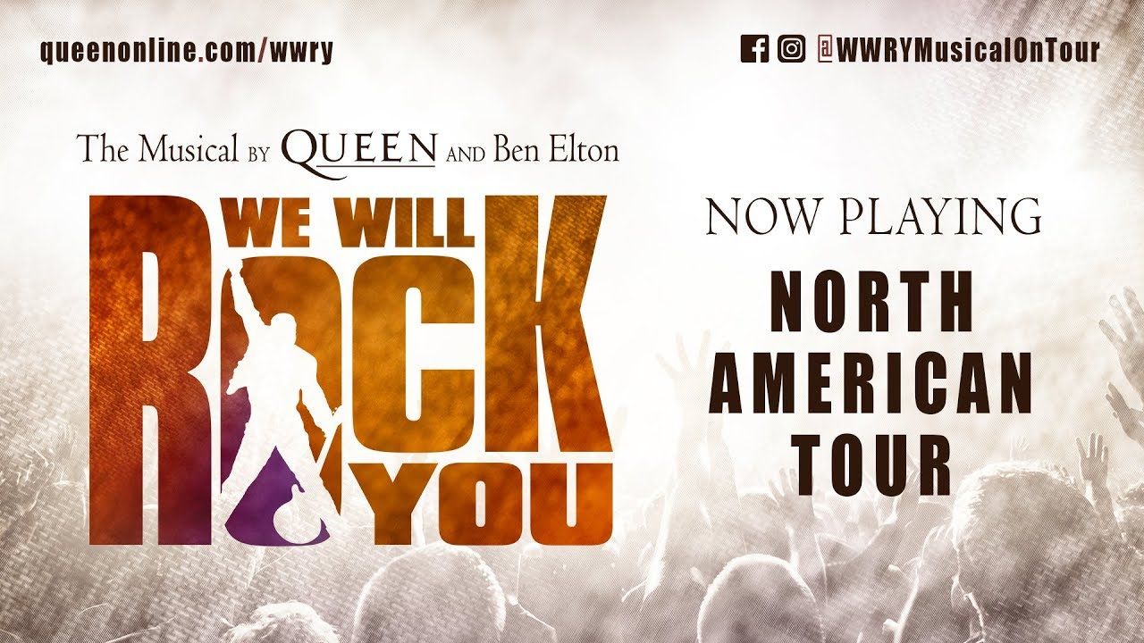 We Will Rock You - North American Tour NEW Trailer