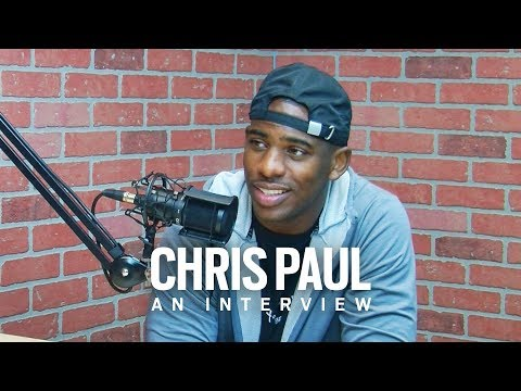 Chris Paul Interview | CP3 Talks the Trade to Houston, Hurricane Harvey, Health and the NBPA