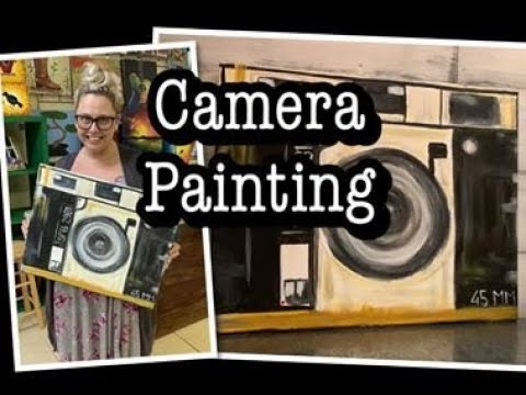 easy-camera-acrylic-painting-/-diy-painting-party-/-canvas-paint-party-picture-ideas