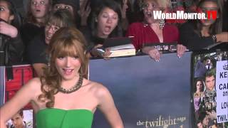 Bella Thorne arrives at Twilight Saga Breaking Dawn Part II World premiere