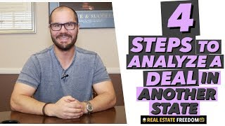 How to Fix And Flip Real Estate in Another State - Part 2: Analyzing Deals