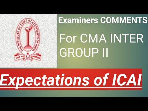 VIMP EXPECTATION OF EXAMINER INTER GROUP II
