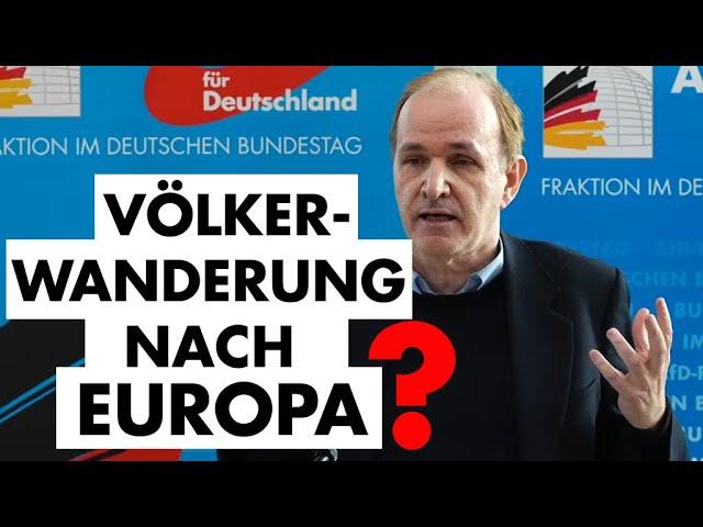 Vortrag im Bundestag zur migrationspolitischen Lage