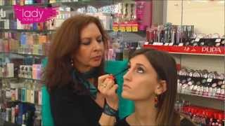 Lady Make Up Tutorial Trucco Ramato
