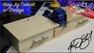 Kreg Jig Cabinet W/ Storage