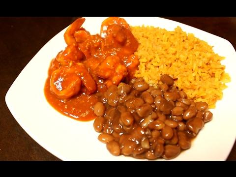 Easy Step By Step Camarones Ala Diabla Spicy Shrimp Receta Muy Facil Y Rapida