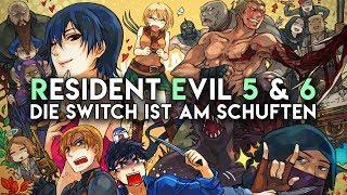 Sind Resident Evil 5 & 6 auf Switch trotz Ruckelei je 30 Euro wert?