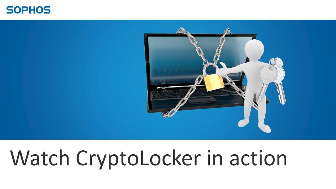 watch cryptolocker in action youtube