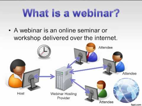 What is a webinar?  From The Beginners Guide to Webinars