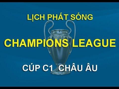 Lịch thi đấu cúp C1 Châu Âu - Champions League 2019 2020